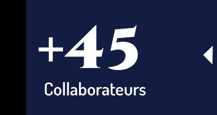 + de 42 collaborateurs